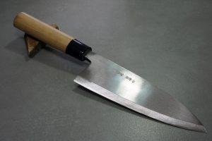 """סכין פילוט דגים (דבה) מיצ'יו אישיקאווה 195מ""""מ Shirogami#2"""