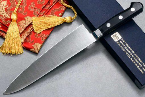 """סכין שף (גיוטו) יאמאוואקי 210מ""""מ AUS8"""