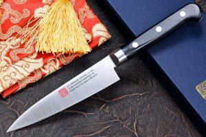 """סכין עזר (פטי) יאמאוואקי 120מ""""מ AUS8"""