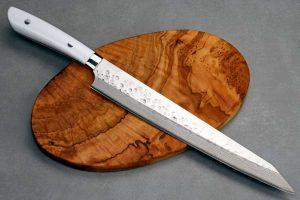 """סכין פריסה (שוג'יהיקי) סאג'י 740מ""""מ SRS13 דמשק"""