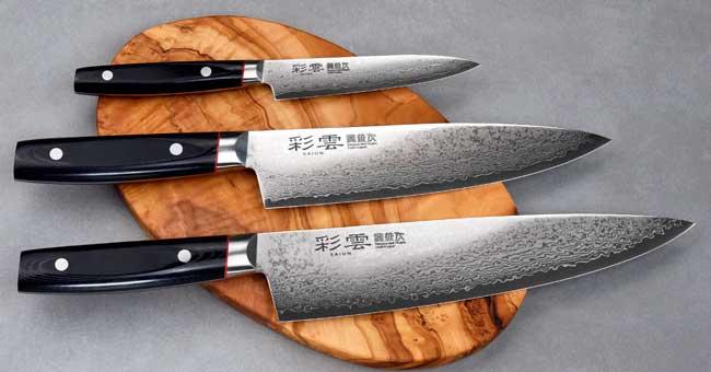 סכיני קאנצ'וגו - סדרת Saiun