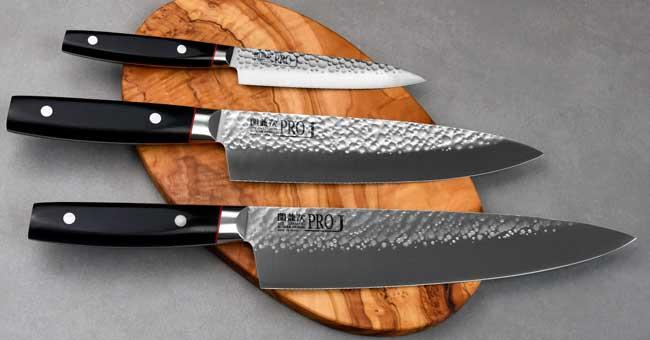סכיני קאנצ'וגו - סדרת Pro-J
