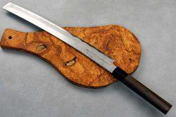 """סכין סושי/פריסה (טאקוהיקי מארו) אוקדה 300מ""""מ Shirogami#2"""