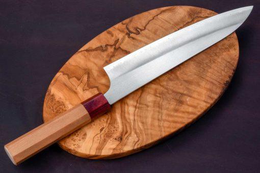 """סכין שף (גיוטו) מאקוטו 210מ""""מ Aogami Super"""