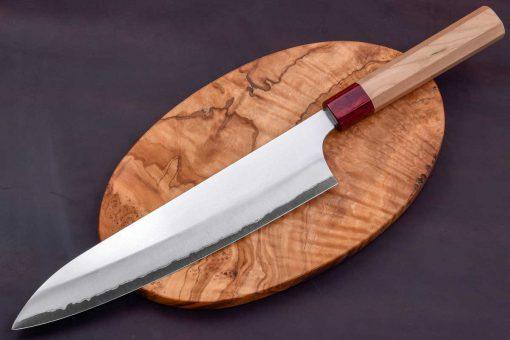 """סכין שף (גיוטו) מאקוטו 240מ""""מ Aogami Super"""