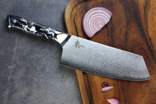 """סכין שף (בונקה) היגאשי 210מ""""מ 10Cr15CoMoV"""