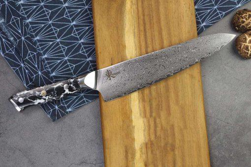 """סכין שף (גיוטו) היגאשי 210מ""""מ 10Cr15CoMoV"""