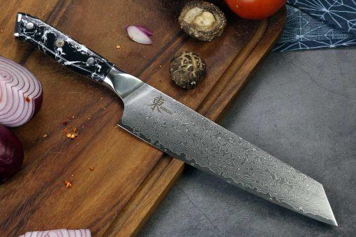 """סכין שף (קיריצוקא) היגאשי 210מ""""מ 10Cr15CoMoV"""