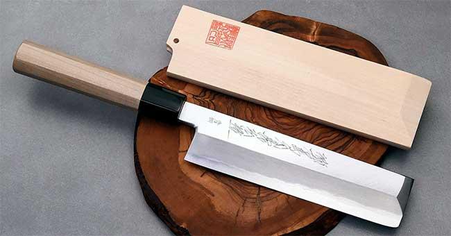 סכין ירקות יפני מסורתי מסוג אוסובה
