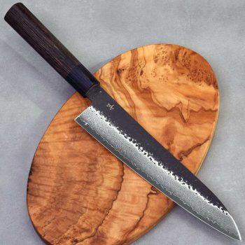 """סכין שף (גיוטו) מבית שיזו 210מ""""מ VG10"""