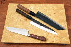 קרש חיתוך גדע מעץ אורן | End Grain Butcher Block