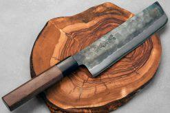 """סכין ירקות (נקירי) יושידה 180מ""""מ ZDP-189 שחור"""