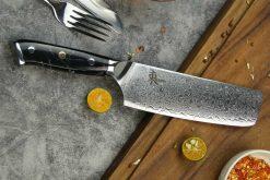 """סכין ירקות (נקירי) היגאשי 165מ""""מ 10Cr15CoMoV"""