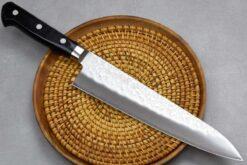 """סכין שף (גיוטו) טאקאמורה 210מ""""מ VG10 מרוקע"""