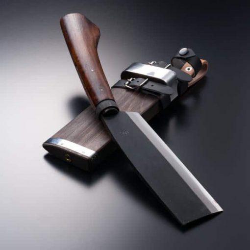 AZSYU Shirogami Hachet 165mm (abt 6.5 Inch), Double Bevel 2
