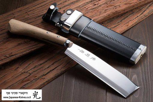 """מצ'טה יפנית (קושינאטה) אזומה סיוסאקו 210מ""""מ Shirogami#2"""