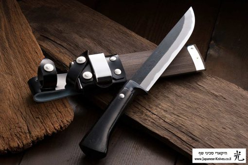 """סכין שטח אזומה סיוסאקו 150מ""""מ Shirogami#2"""
