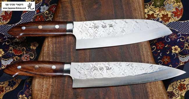 סכיני שף בעבודת יד של טאקשי סאג'י - סדרת SRS13