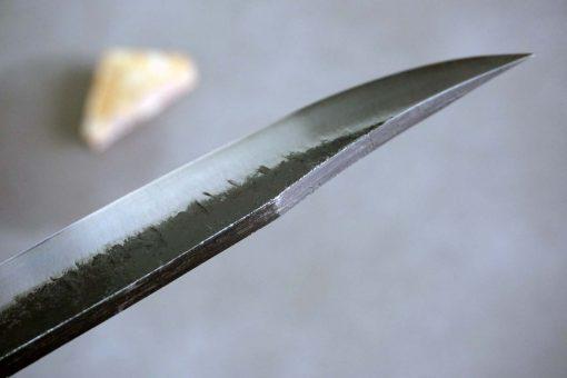 """סכין שטח אזומה סיוסאקו 165מ""""מ Aogami#2 5"""