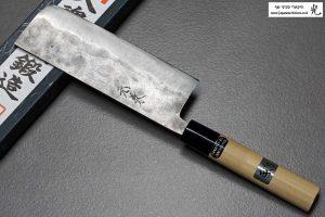 """סכין ירקות (נקירי) גוקו 165מ""""מ Shirogami#1"""