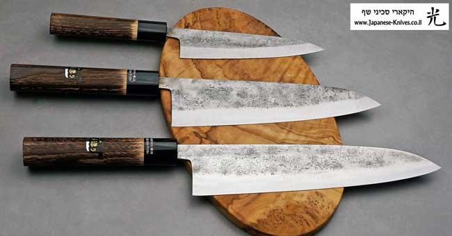 סכיני שף יפניים מבית גוקו