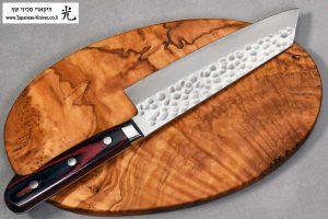 """סכין שף (בונקה) הירושי קאטו 165מ""""מ SG2 מרוקע"""