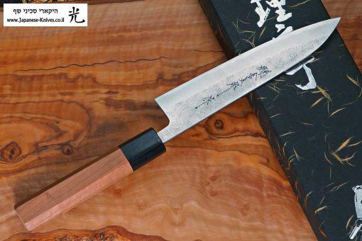 """סכין עזר (פטי) הירושי קאטו 150מ""""מ Aogami Super"""