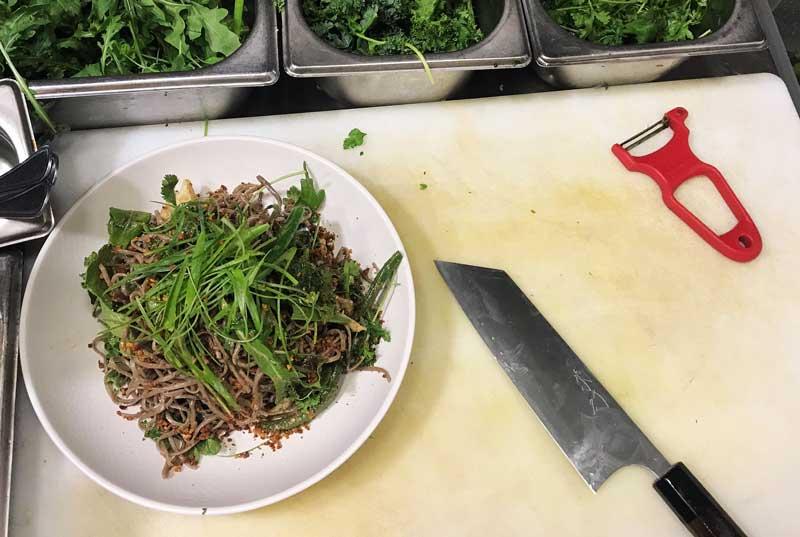 סקירה: סכין שף מסוג בונקה מבית שיבאטה