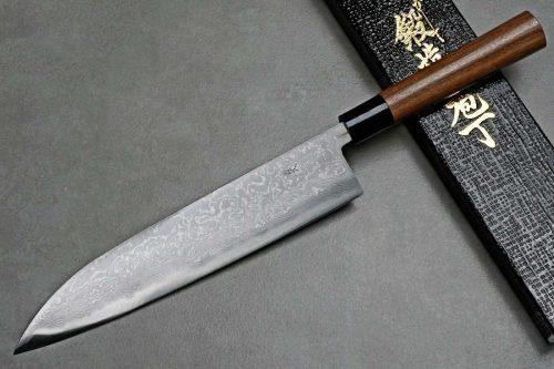 """סכין שף (גיוטו) קאג'יווארה 240מ""""מ Aogami#2"""