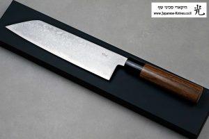 """סכין שף (קיריצ'וקא) קאג'יווארה 210מ""""מ Aogami#2"""