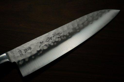 """סכין שף (סנטוקו) קאנצון 180מ""""מ Aogami#2 1"""