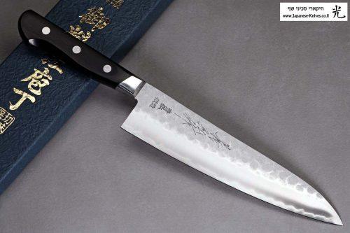 """סכין שף (גיוטו) קאנצון 200מ""""מ Aogami#2"""