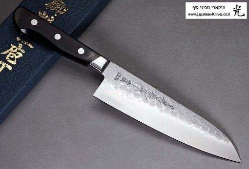 """סכין שף (סנטוקו) קאנצון 180מ""""מ Aogami#2"""