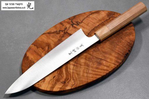 """סכין שף (גיוטו) מאקוטו 210מ""""מ SG2"""
