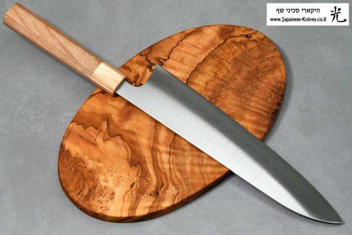 """סכין שף (גיוטו) מאקוטו 240מ""""מ SG2"""