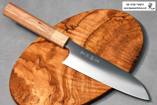 """סכין שף (סנטוקו) מאקוטו 165מ""""מ SG2"""