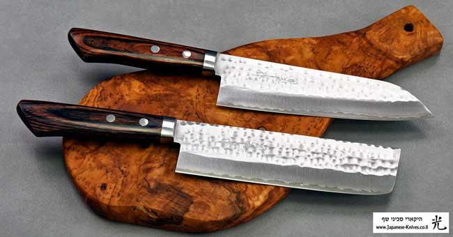 סכיני שף יפניים מבית מסוטאני - פלדת VG1