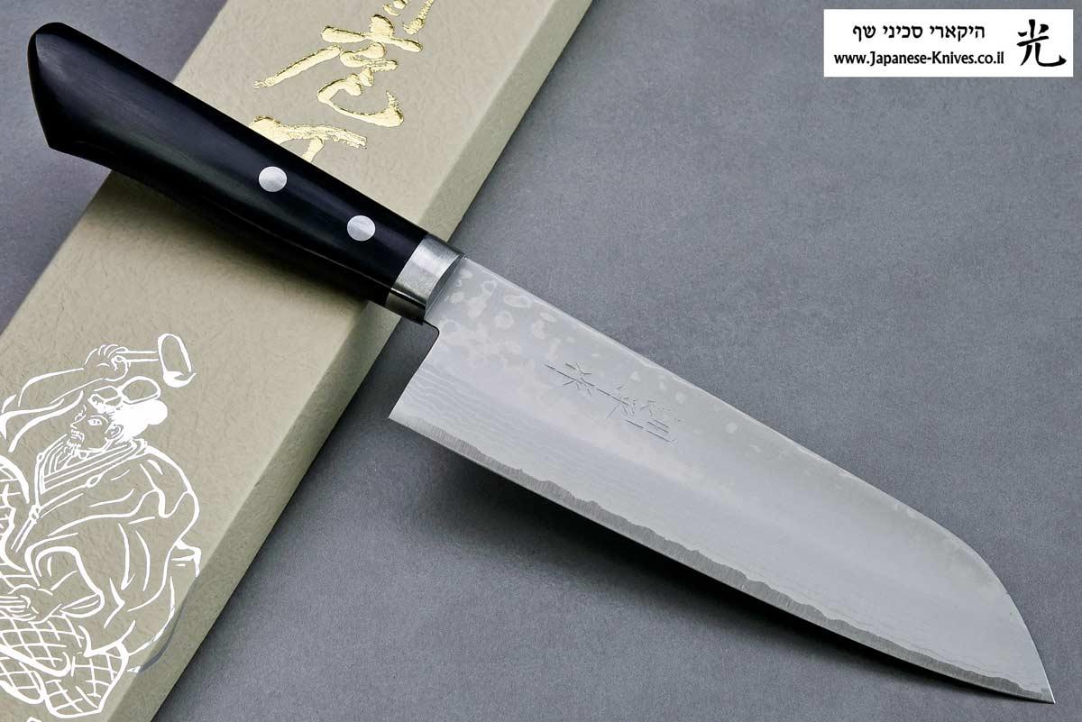 """סכין שף (סנטוקו) מסוטאני 170מ""""מ VG10"""