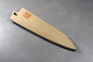 """מגן עץ (Saya) לסכין שף (סנטוקו) קאנצון 180 מ""""מ"""