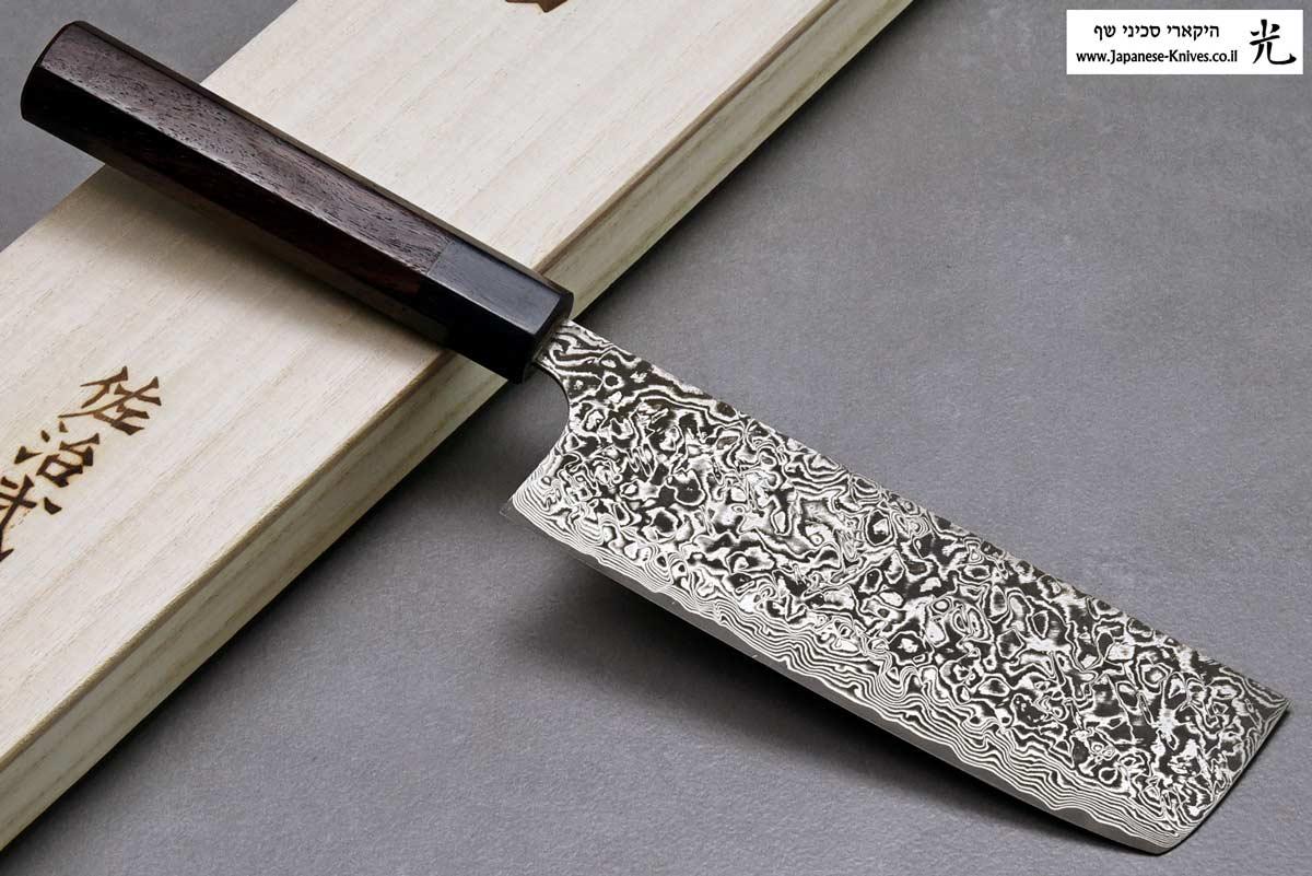 """סכין ירקות (נקירי) סאג'י 165מ""""מ SG2"""