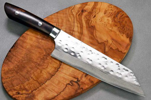 """סכין שף (בונקה) סאג'י 180מ""""מ SRS13 דמשק Ironwood"""