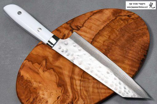 """סכין שף (בונקה) סאג'י 180מ""""מ SRS13 דמשק"""