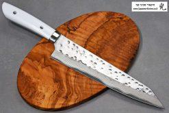 """סכין שף (קיריצ'וקא) סאג'י 240מ""""מ SRS13 דמשק"""