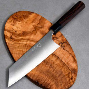 """סכין שף (בונקה) שיבאטה 180מ""""מ SG2 Ad 1:1"""