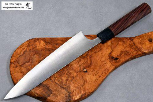 """סכין שף (גיוטו) שיבאטה 210מ""""מ Aogami Super"""