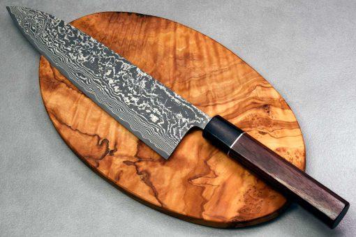 """סכין שף (גיוטו) שירו קאמו 210מ""""מ SG2"""