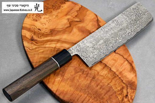 """סכין ירקות (נקירי) שירו קאמו 165מ""""מ SG2"""