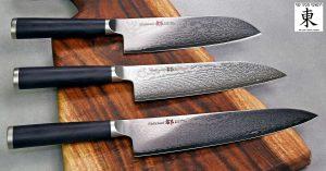 סט סכיני שף מיאקו - שלושה סכינים