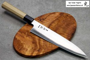"""סכין שף (גיוטו) סוקנארי 240מ""""מ HAP40 חלק"""