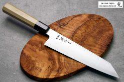 """סכין שף (קיריצ'וקא) סוקנארי 210מ""""מ HAP40 חלק"""